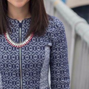 ANTHROPOLOGIE Rosie Neira Geo Diamond Jacket